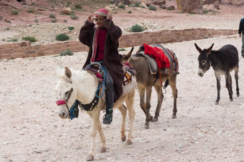 Beduíni Petra Jordan