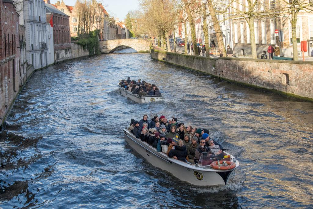 Bruggy - projížďka na člunech
