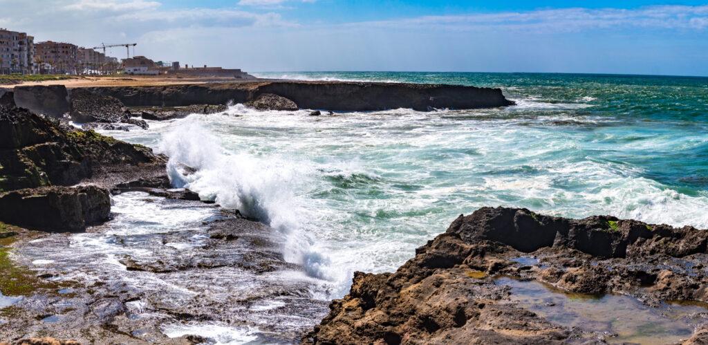 Rabat - moře