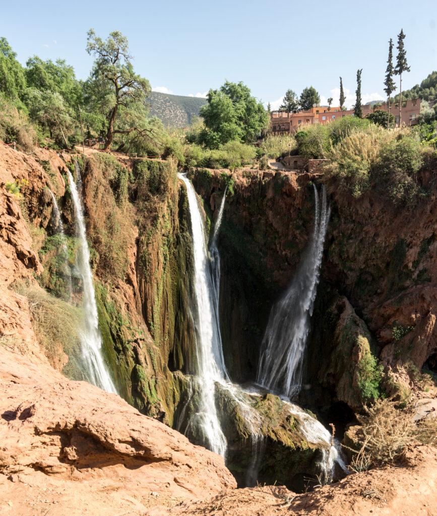 Cascades d´Ouzoud či vodopády Ouzoud